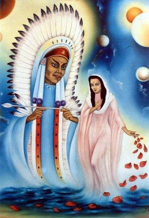 Pai Seta Branca e Mãe Yara